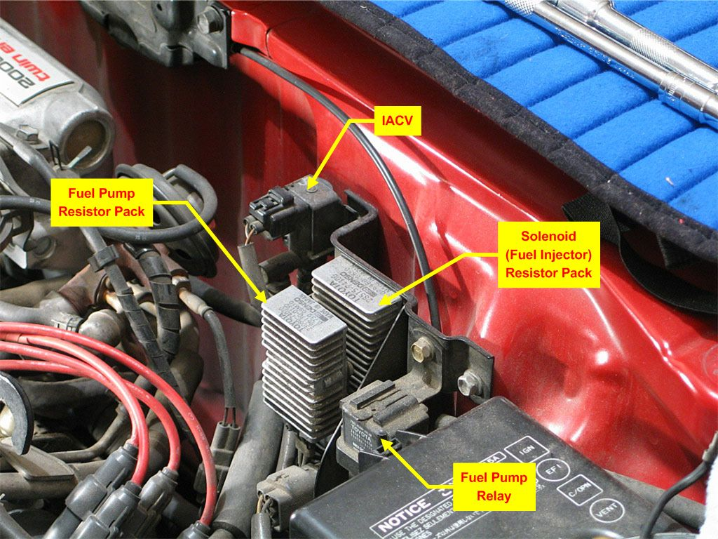 2009 Toyota Corolla Fuse Box Location Wiring Library 91 Block Diagram Mr2 Owners Club Resistor Pack Yaris